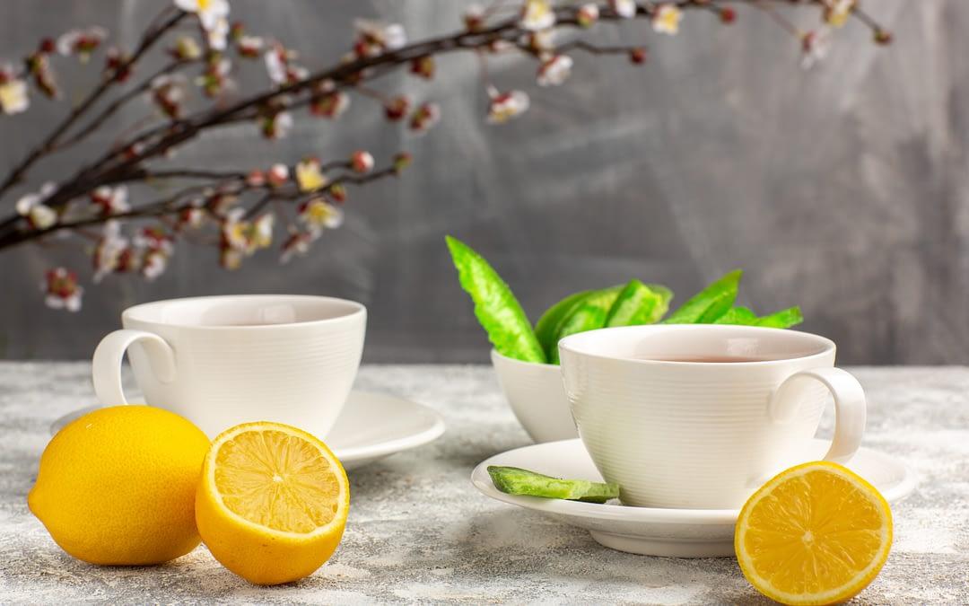 How To Make Lemon Green tea & Its Benefits