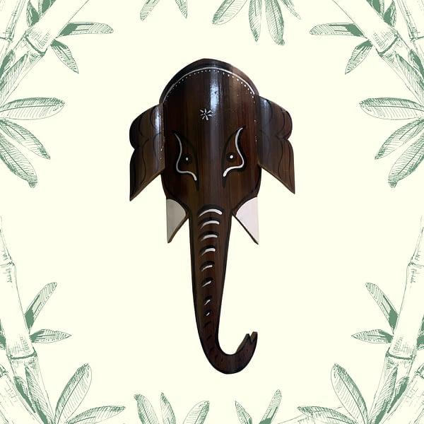 bamboo ganesh head